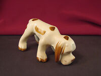 "Vintage HOUND DOG Snooping Figurine JAPAN Ceramic 2"" T Old  #HD1"