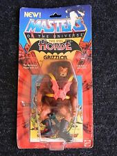 MOTU Vintage Grizzlor Masters of the Universe carded sealed figure He Man 1984