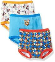 NEW Nickelodeon Toddler Boys Paw Patrol Training Pant 3pk Assorted Size 3T