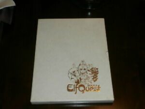 1984 ELFQUEST BOOK 4 HARDCOVER SIGNED & NUMBERED WENDY PINI & RICHARD PINI