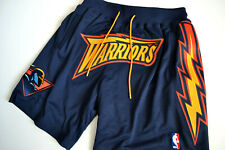 GOLDEN STATE WARRIORS JUST DON X MITCHELL & NESS 1997-98 SHORTS SZ.L NEW W/ TAGS