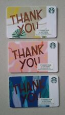 Starbucks Card 2018 Thank You Recycled