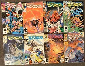 The Defenders #134,136,139,141,146,148,150,152 Marvel Comics 1984 Lot
