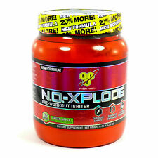 BSN N.O.XPLODE Pre-Workout Energy Pump 36 Servings BONUS SIZE SALE GREEN APPLE