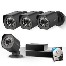 Zmodo 1080p 8CH NVR Video Sicherheitssystem 4 sPoE Außen Überwachungskamera