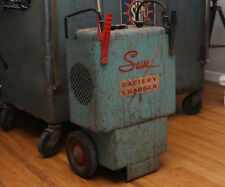 Vintage Sun Service Equipment BC-80 Battery Charger on wheels - will ship