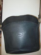 Sac Longchamp Vintage Cuir Bleu marine