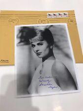 MARTHA HYER Autographed 8 x 10 Photo  LEGENDARY HOLLYWOOD MOVIE STAR
