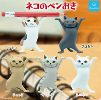 Cat pen Stand every 5 set mini figure capsule toys Gashapon NEKO Toy Gift