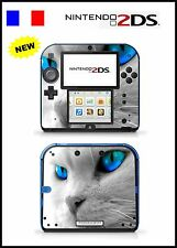 SKIN STICKER AUTOCOLLANT DECO POUR NINTENDO 2DS REF 51 CHAT