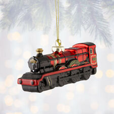 Universal Studios Harry Potter Hogwarts Express Glass Ornament New with Tags