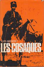 C1 RUSSIE Breheret LES COSAQUES Epuise RELIE 1972 Grand Format JAQUETTE