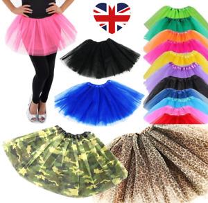 Long Tutu's Dance Fancy Dress 40CM High Quality Halloween HIGH QUALITY NEW UK