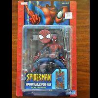 Spider-Man Classics Marvel Legends Superposeable McFarlane Toy Biz  Figure AS IS