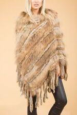 Fox Fur Poncho Coats & Jackets for Women