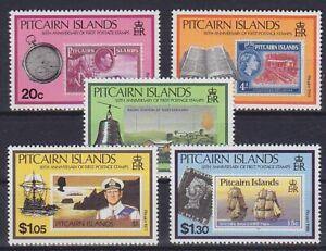 Ships Sea Pitcairn Mi No. 362 - 366, Mint MNH