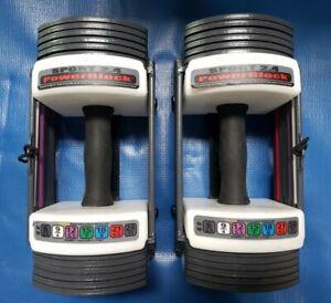 PowerBlock Sport 2.4 (24) Adjustable Dumbbells Set - 3-24 lbs each - PAIR
