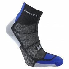 Hilly Urban Twin Skin Mens Tactel Running Wicking Anklet Trainer Socks XL