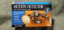 INTELECTRON MOTION DETECTOR W/SECURITY LIGHT BC8008K INDOOR/OUTDOOR - SEE NOTES