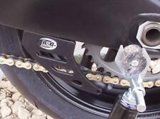 R&G Negro Puntera De Aluminio Protector De Cadena Para Kawasaki ZX636 A1P, 2002