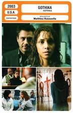 FICHE CINEMA : GOTHIKA - Berry,Cruz,Downey Jr,Kassovitz 2003