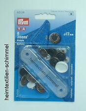 Prym 8 Jeans knöpfe Kupfer Farben Ø 17 Mm mit Werkzeug 622 241