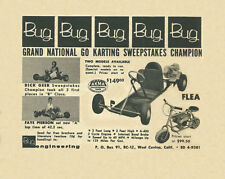 Vintage & Very Rare 1959 Bug Champion Go-Kart Ad