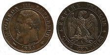 FRANCE Cinq Centimes 1854 A