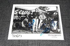 TOTO signed AUTOGRAFI SU 20x25 foto inperson Bobby Kimball Steve Lukather look