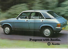 Austin Mini 850 1275 Clubman Allegro Maxi Princess UK 16 Page Brochure