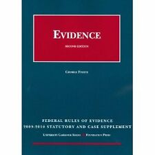 Evidence by George Fisher (2008, Hardcover)