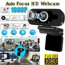 1080P 30fps Webcam USB2.0 HD Auto Focus Web Cam Microphone Laptop Desktop US