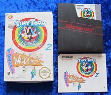 Tiny Toon Adventures 2 Trouble in Wacky Land, OVP Anleitung, Nintendo NES Spiel