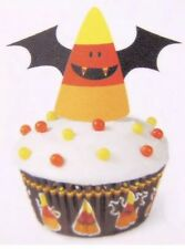 Wilton Spooky Candy CornCupcake Kit with Liners Picks Halloween Decorating Treat