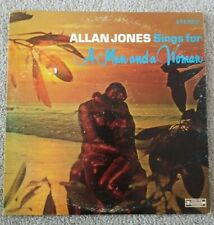 Allan Jones Vinyl LP Sings For A Man And A Woman VG+