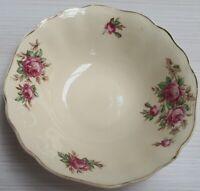 Vintage J&G Meakin Pink Roses Pattern Bowl c1912-39 Made in England 16.5cm