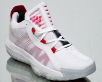 adidas Dame 6 Men's Damian Lillard White Scarlet Black Basketball Sneakers Shoes