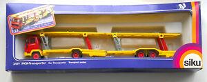 SIKU 3419 MERCEDES CAR TRANSPORTER PKW-TRANSPORTER VNM IN GOOD BOX 1:55 SCALE
