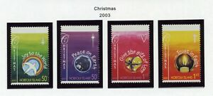 NORFOLK ISLAND   MNH  797-800   Christmas   XD722