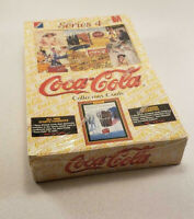 Coca Cola Collector Cards Unopened Sealed Box Collect A Card 1995 Series 4