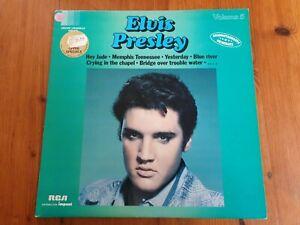 ELVIS PRESLEY vol 5 ALBUM 33T LP  très bon état