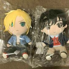 RARE BANANA FISH Ash Lynx Eiji Okumura Plush doll 2PCS SET 2018 Gift JAPAN #DHL