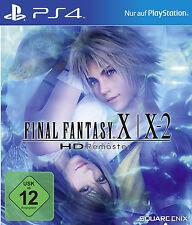 Final Fantasy x/x-2 HD Remaster ps4 nuevo + en lámina