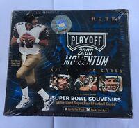 2000 Playoff Momentum Factory Sealed Football Box Tom Brady RC?