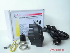 Motorvorwärmer OWL-2 +Anschluß-Set+UNIVERSELL+Standheizung Kühlwasserheizung