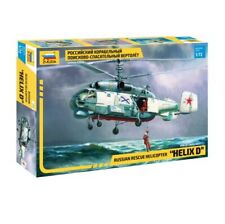 """Zvezda 1/72 Russian Rescue Helicopter """"Helix D"""""""