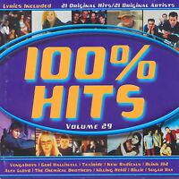 100% Hits - Volume 29 - Various Artists       *** BRAND NEW CD ***