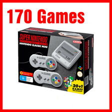 Genuine Super Nintendo SNES classic mini 170 games