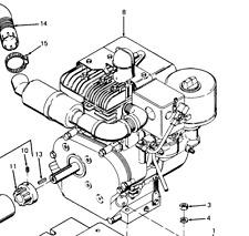 13229E4155 Ignition Modulator Briggs & Stratton 1-HP2-4552 5 HP Flat Head [D3B2]