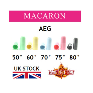 MAPLE LEAF AEG MACARON  HOP UP RUBBER BUCKING AIRSOFT bbs mask chamber packing